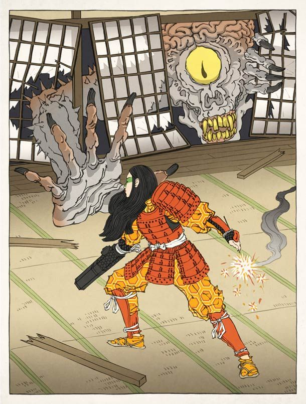 Japanese-Ukiyo-e-video-games-illustrations-8