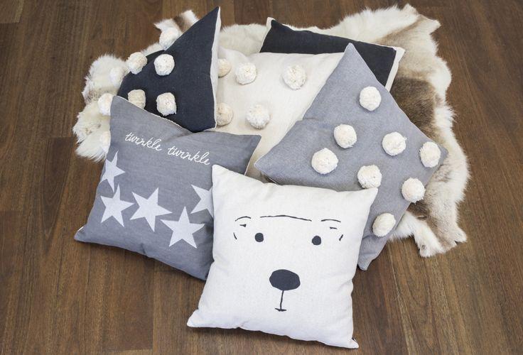 #cushion  #polarbear #pompom #christmas