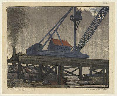 The timber crane, by Australian Ethel Spowers
