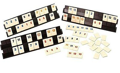 Card Games-Vintage 146004: Deluxe Rummy With 160 Tiles With 6 Boards For 6 Players -> BUY IT NOW ONLY: $30.63 on eBay!