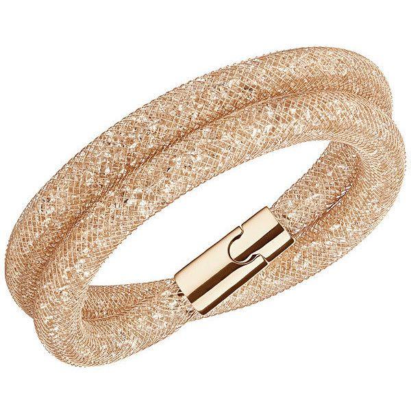 Swarovski Stardust Deluxe Bracelet ($99) ❤ liked on Polyvore featuring jewelry, bracelets, sparkle jewelry, swarovski jewelry, bracelet bangle, bracelet jewelry and polish jewelry