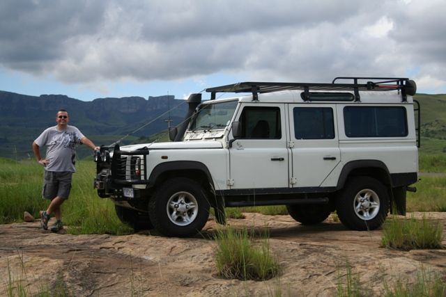 Pieter Mulder's Land Rover Defender from South Africa. My Land Rover has a Soul, MLRHAS, Land Rover Book