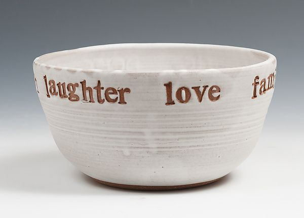 Celebration Bowl by Louise Bilodeau: Ceramic Bowl available at www.artfulhome.com