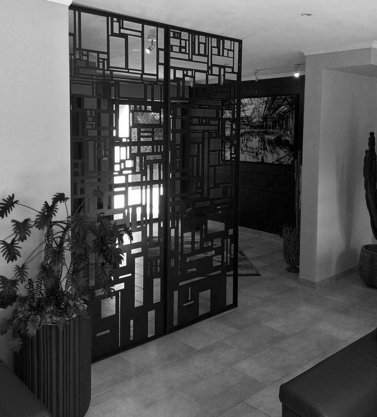 Décoration intérieure - Cloison de séparation - Motif personnalisé - Art Métal Concept Quimper - http://artmetalconcept.e-monsite.com/album/agencement-interieur/