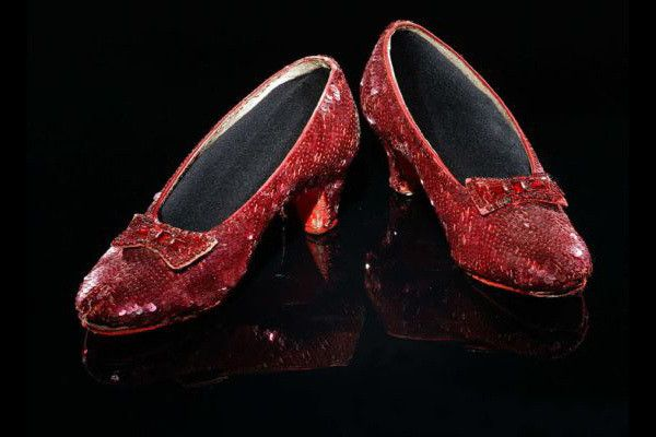 These ruby slippers look familiar, it's because they were specially designed to commemorate the 50th anniversary of 'The Wizard Of Oz'. Made by Harry Winston, the shoes boast 1,350 carats of rubies and 50 carats of diamonds, and are worth an estimated $3 million