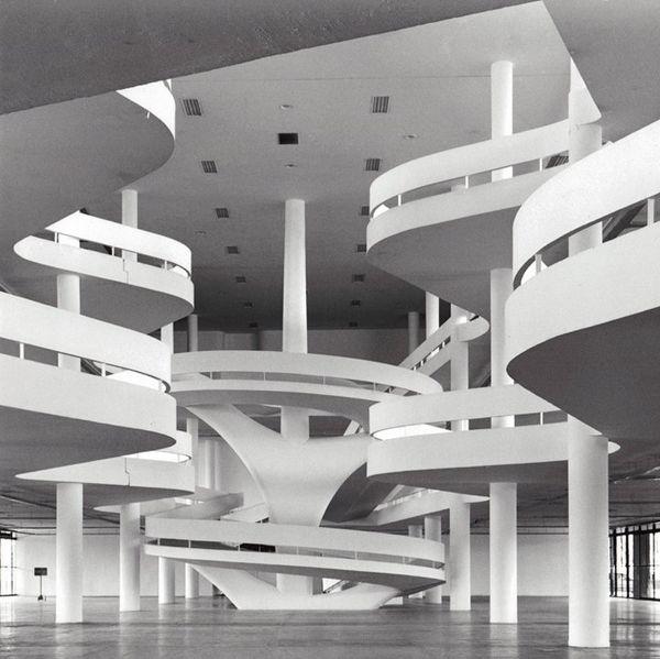 www.chambreenplus.fr aime... Ciccillo Matarazzo Pavilion in Brazil - 1957. Designed by Oscar Niemeyer. Photo courtesy of arte-sur.