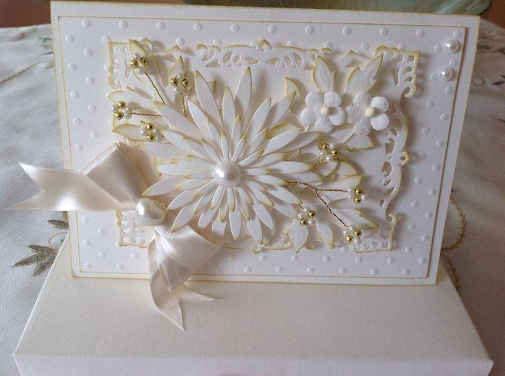 Acceptance wedding card