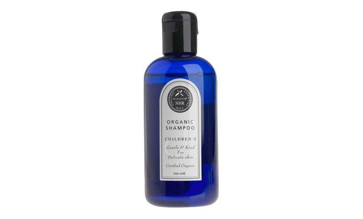 Mild, duftfri shampoo med økologisk morgenfrue ekstrakt til babyer og børn…