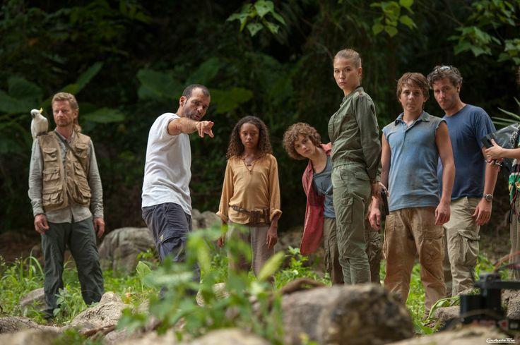 Regisseur Mike Marzuk inszeniert seine Darsteller am Set von Fünf Freunde 3.