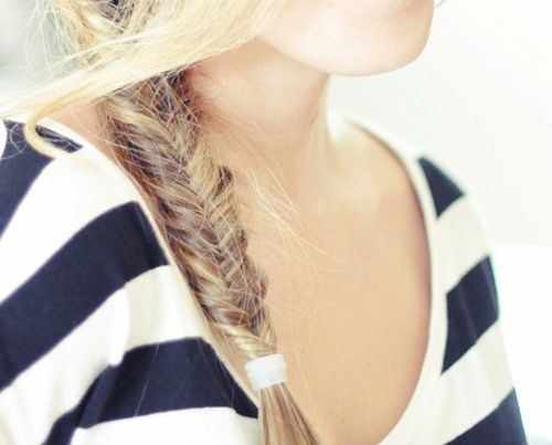 fishtail and stripes