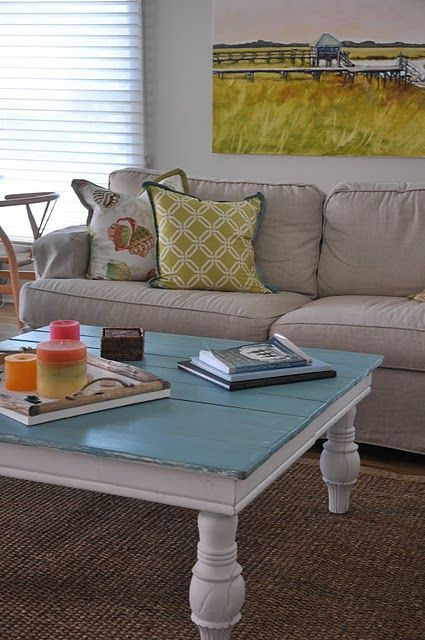 Find This Pin And More On Painted Furniture Dining To Coffee Table