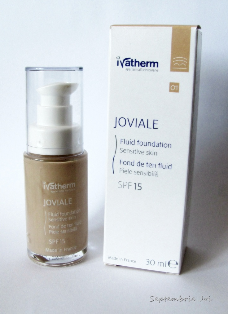 Ivatherm Joviale   din campania Trender & Ivatherm    http://septembriejoi.mug.ro/2012/07/04/review-ivatherm-joviale/  http://septembriejoi.mug.ro/wp-content/uploads/2012/07/IMG_1443.jpg