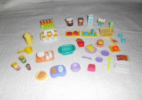 Details About Vintage Barbie Or Doll Dollhouse Kitchen