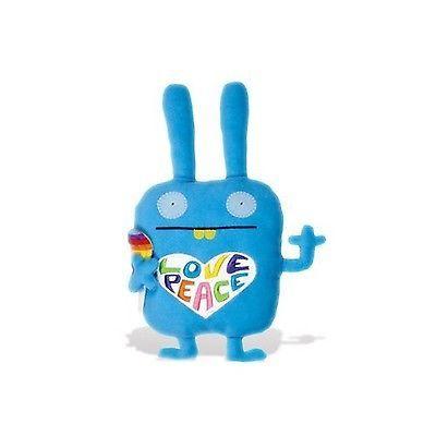 "UglyDoll Pretty Ugly Peace & Love Wippy Blue 14"" Plush Toy 826451933335   eBay"