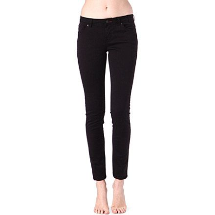 PAUL BY PAUL SMITH Skinny low-rise jeans (Black) £155