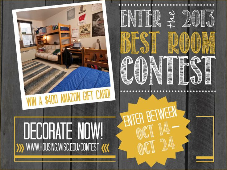 Best Room Contest For University Of Wisconsin Madison Housing Residents  2013, UW Housing #UWHousing Part 68