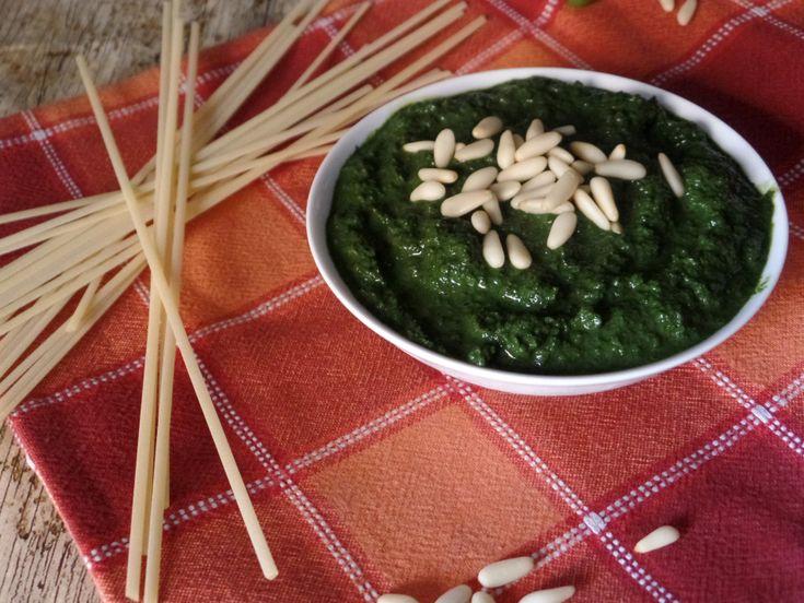 Pesto+di+basilico+fatto+in+casa