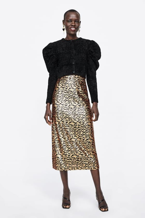 Brillos Chaqueta Punto Cardigan Knit Pinterest Zara Fashion UUqrSvnwR