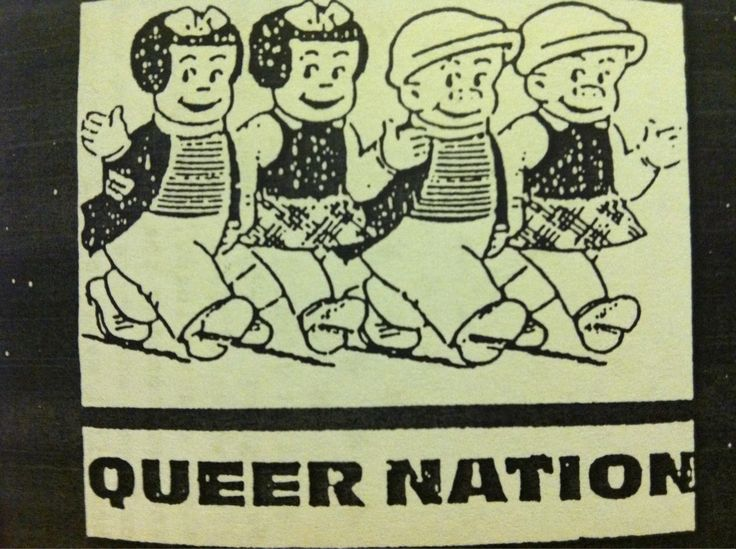 """Queer Nation"" #gsm #lgbtq #feminism"