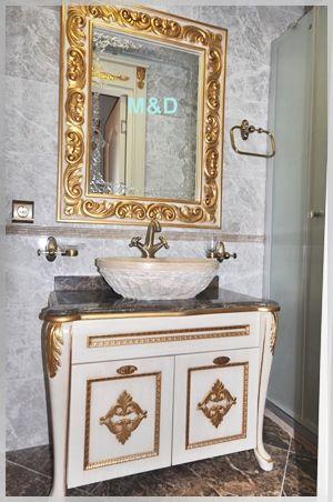 klasik banyo dolabı