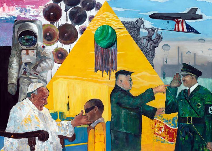 Age of Innocence_162.0 x 224.0cm_oil on canvas_2015