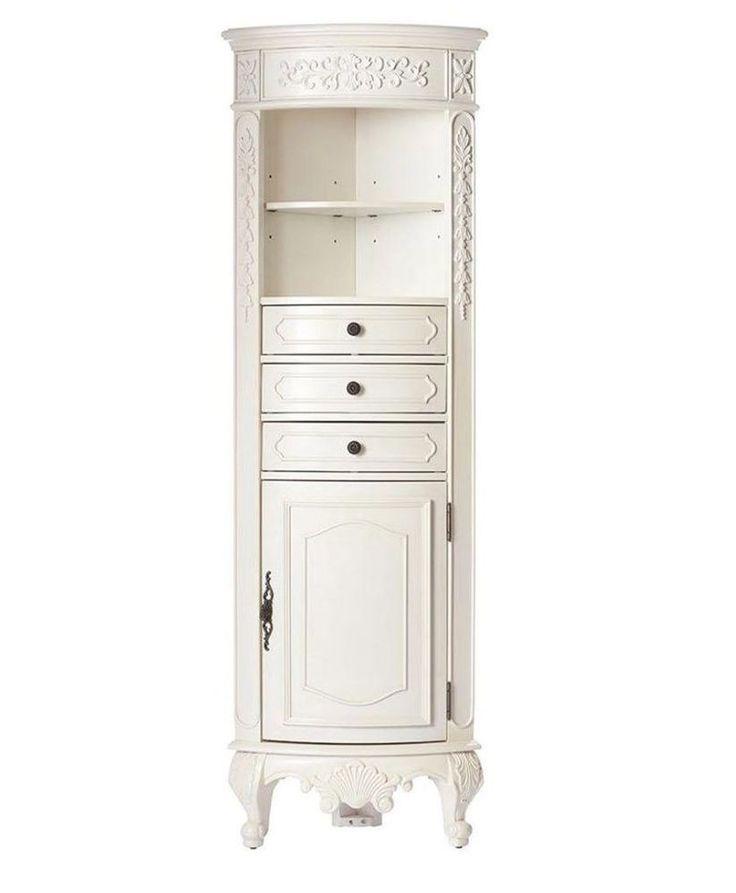 The 25+ best Corner linen cabinet ideas on Pinterest | DIY storage for  bathroom, Bathroom vanity organization and How to organize a bathroom - The 25+ Best Corner Linen Cabinet Ideas On Pinterest DIY Storage