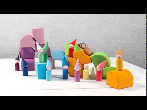Гномики и вальдорфские кубики - YouTube