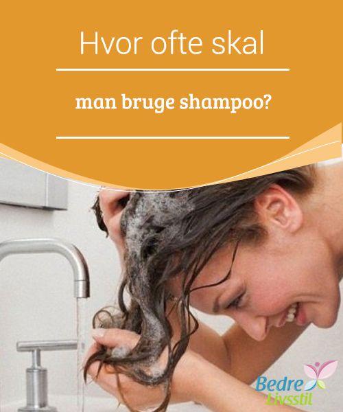 Hvor ofte skal man bruge shampoo?  Vores hår og hud bliver #naturligt hydreret af sebum. Uden det, kan vores hud blive tør og begyndte at #skælle, hvilket efterlader den sårbar overfor ugunstige elementer i miljøet. På den #anden side: Hvad kan du gøre, når du har #olieret eller fedtet hår?