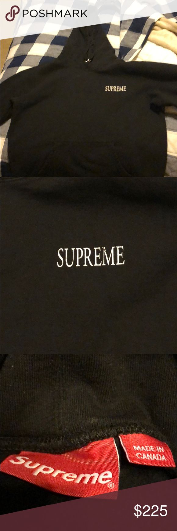 Supreme Decline Black Hoodie A comfortable hoodie with a touch of clout to add to the closest. New never been worn Supreme Jackets & Coats Performance Jackets