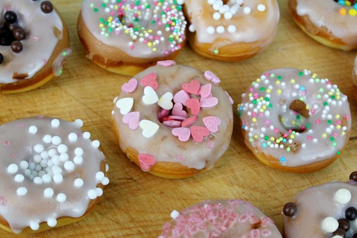 Donuts mit Streuseln_Rezept Donuts_selbstgemachte Donuts
