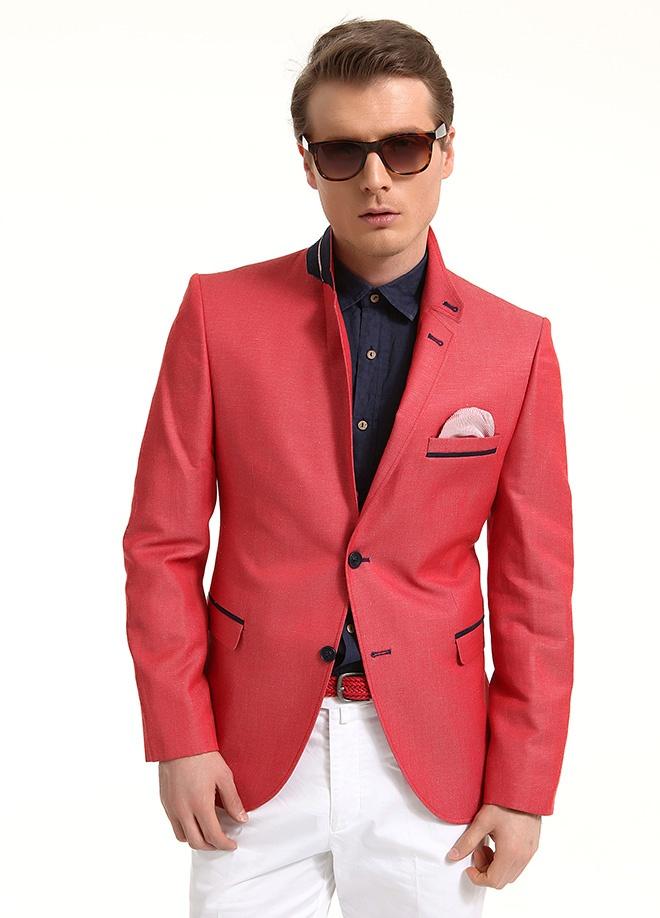 Sateen Men Pamuk keten ceket Markafonide 299,90 TL yerine 149,99 TL! Satın almak için: http://www.markafoni.com/product/3797783/