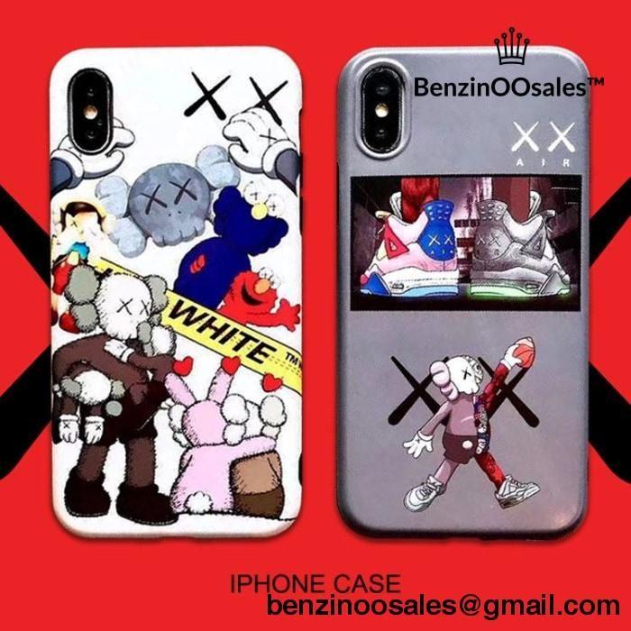 kaws iphone xs max case