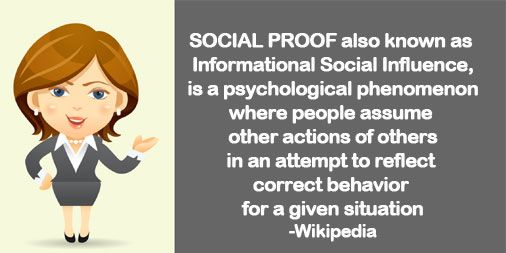 Do you know what really makes social proof – proof? Today social proof is no longer only about how many followers you may have on the various social networks.