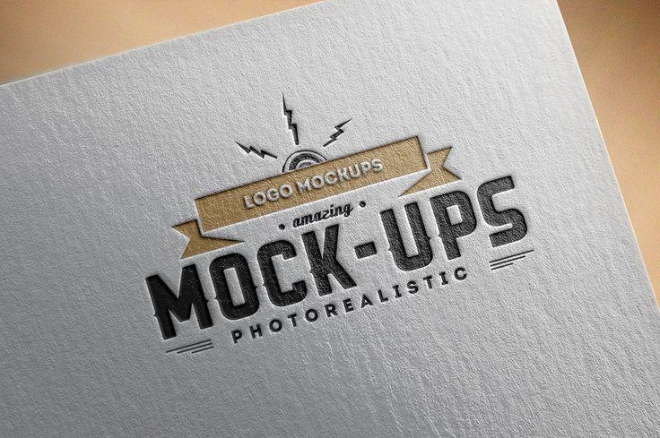Free Logo Mockup Presentation Freebies Fribly Free Logo Mockup Logo Design Mockup Free Logo Mockup Psd