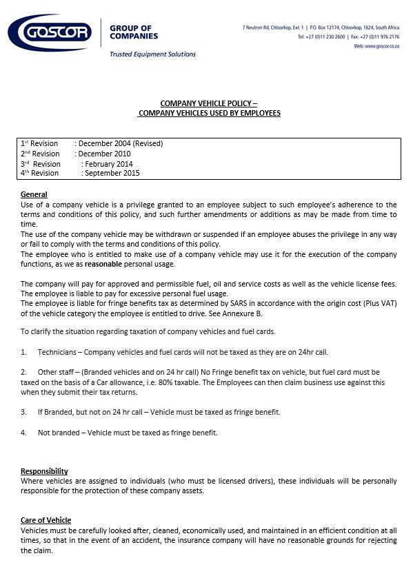 Company Car Policy Template Instant Downloadable Word Format Templates Template Sumo Policy Template Policies Templates