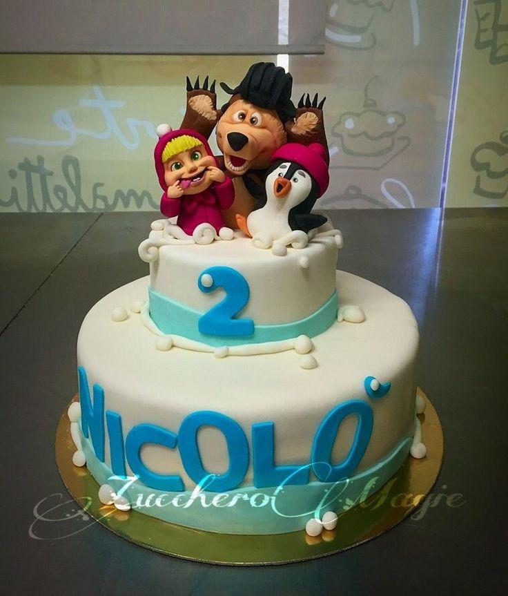 Model Birthday Cake