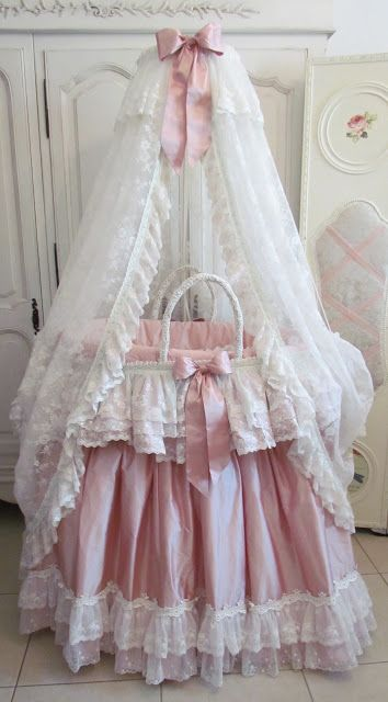 Angela Lace..this is the most gorgeous baby bed I have   ever seen!