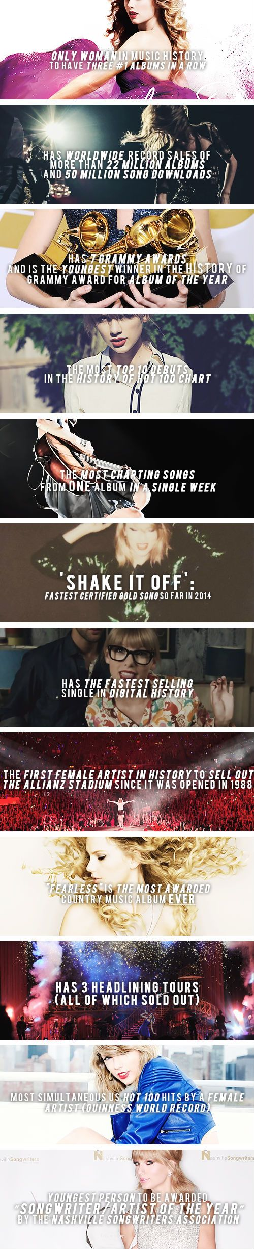 Taylor Swift slaying since 1989