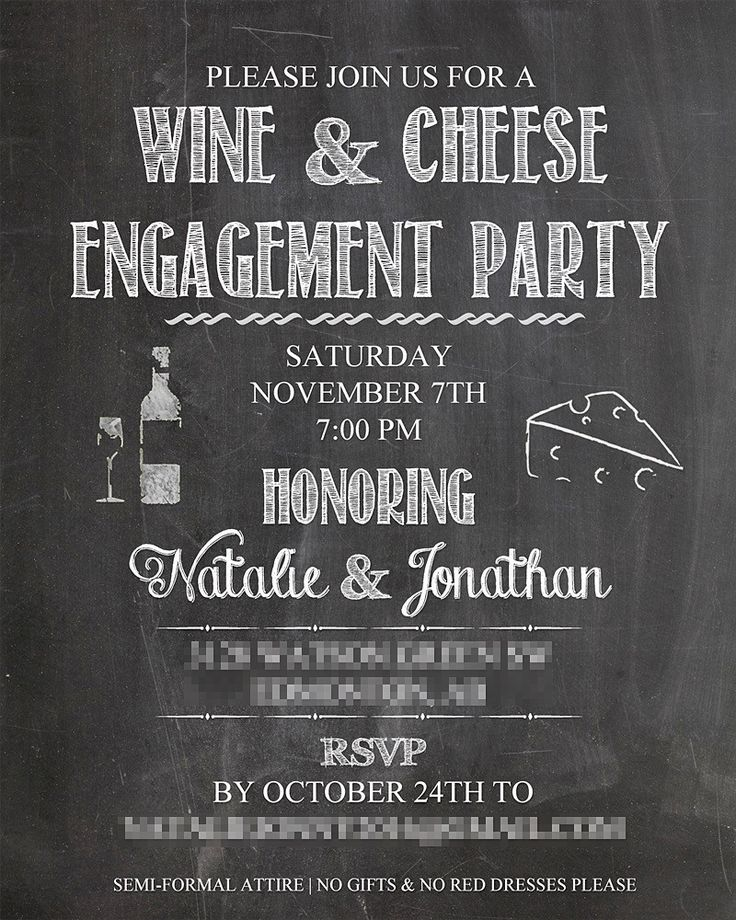 37 best N\'s Wine and Cheese Engagement Party images on Pinterest ...