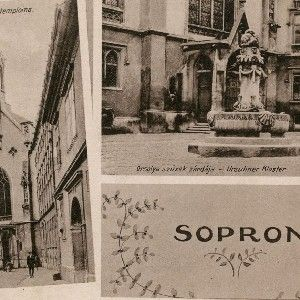 Sopron - Orsolya szűzek temploma. Orsolya szűzek zárdája