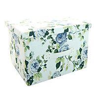 raylinedo® 26L προσομοίωση επένδυση καμβά διοργανωτής ανθεκτικό ύφασμα πτυσσόμενο ρούχα κουτί αποθήκευσης κουβέρτα ντουλάπα πουλόβερ με – EUR € 34.63