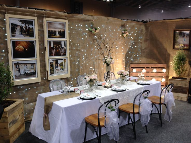 Our prize winning setup from the recent North City Wedding Expo