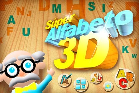 Súper Alfabeto 3DCapture, Alfabeto 3D, App Educativa, Lee Las, App Stores, 26 Puzzles, Las Reseña, Súper Alfabeto, Consigu Súper