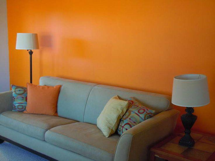 Orange Wall Paint 39 best sunroom images on pinterest | orange color, sunroom and