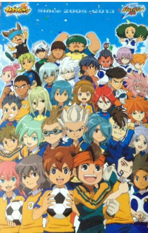 All characters of all seasons of Inazuma Eleven