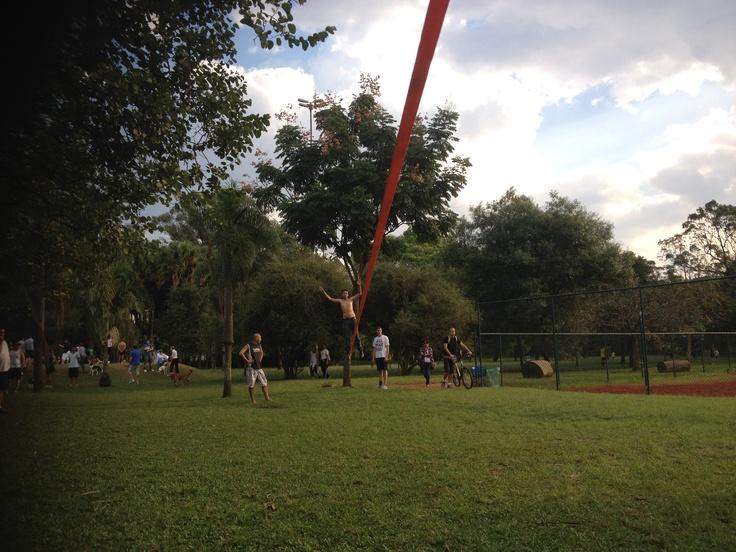 LongLine Parque do Ibirapuera! 45m