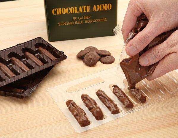 DIY Chocolate Ammo Kit | Inspiration! | Pinterest | The o'jays ...