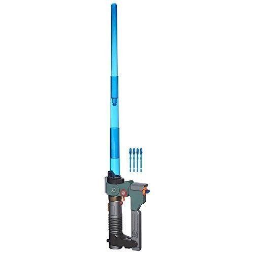 Star Wars Lightsaber Toy Ezra Bridger Blaster Boys Gift Lights Sounds Play Sword #StarWars