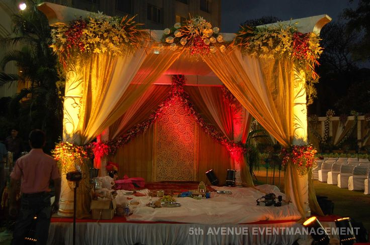 #Beautiful #Wedding #mandaps are waiting for your #Wedding. Click here for more #designs and details : http://www.5thavenueeventmanagement.com/Mandaps.aspx