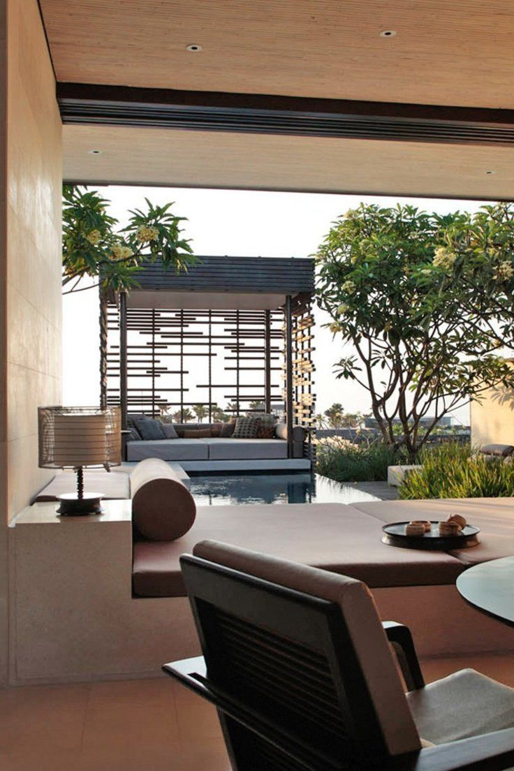 Modern Eco Friendly Villa Hotel On A Cliff Overlooking The Indian Ocean With